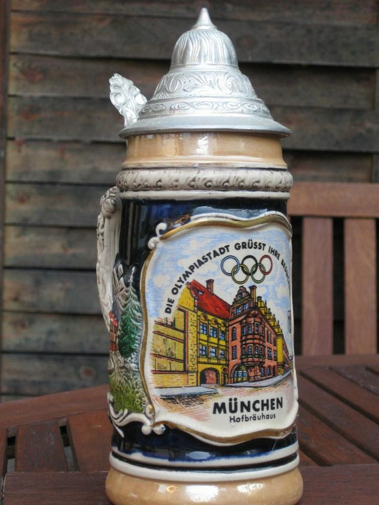 Bierkrug Olympische Spiele 1972 - Weitere - Bild 1