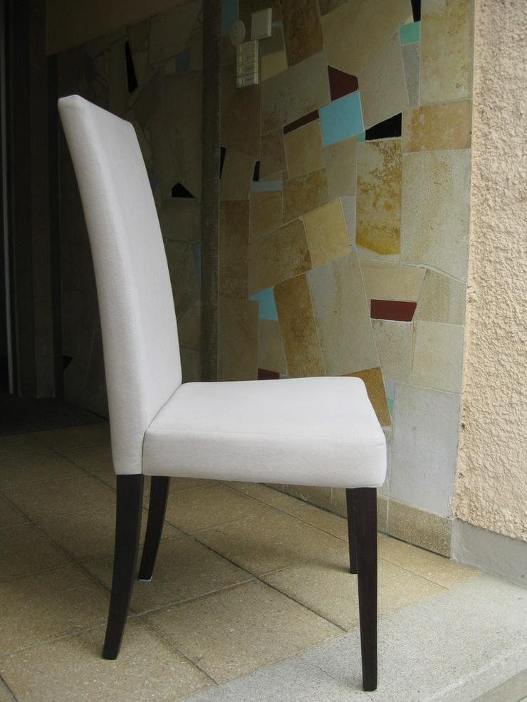 Stuhl aus Alcantara