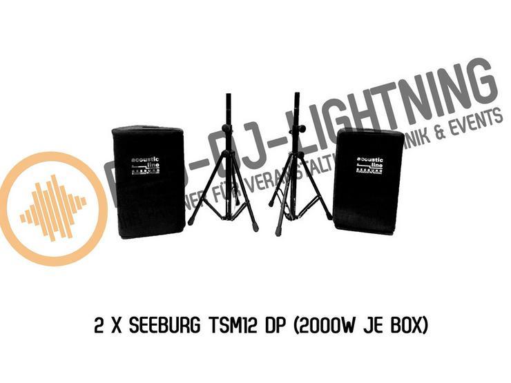 PA Anlage Seeburg TSM12 Aktive Box mieten - Bild 1