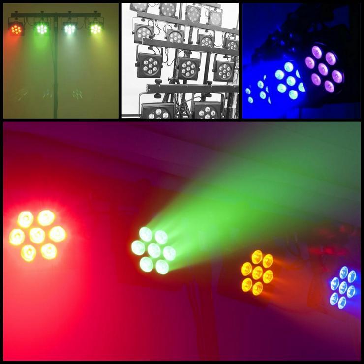EUROLITE LED Scheinwerfer DJ Beleuchtung mieten