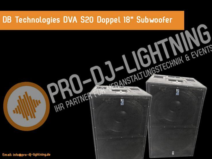 DB Technologies DVA S20 Subwoofer mieten