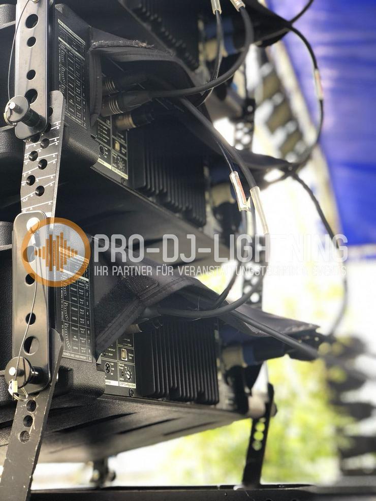 Beschallungsanlage mieten Seeburg Acoustic Line + dBTechnologies DVAS09