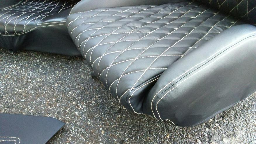 bilder zu vw golf 1 cabrio ledersitze neu ware in passau. Black Bedroom Furniture Sets. Home Design Ideas