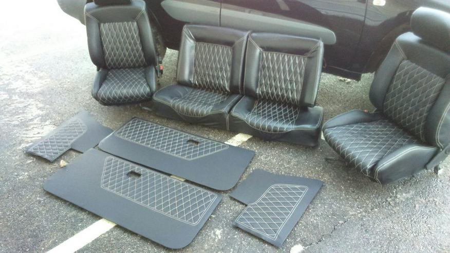 VW Golf 1 Cabrio Ledersitze Neu Ware
