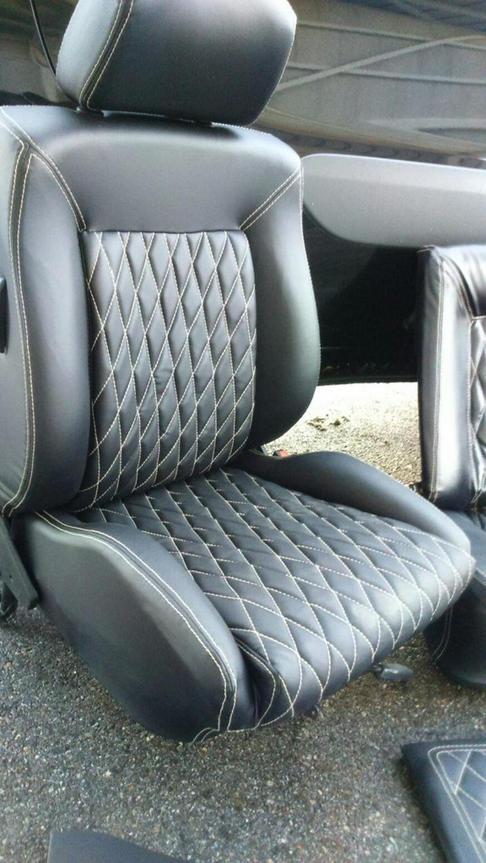 Bild 3: VW Golf 1 Cabrio Ledersitze Neu Ware