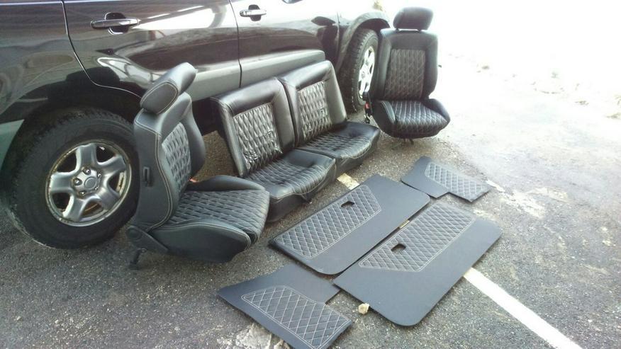 Bild 2: VW Golf 1 Cabrio Ledersitze Neu Ware