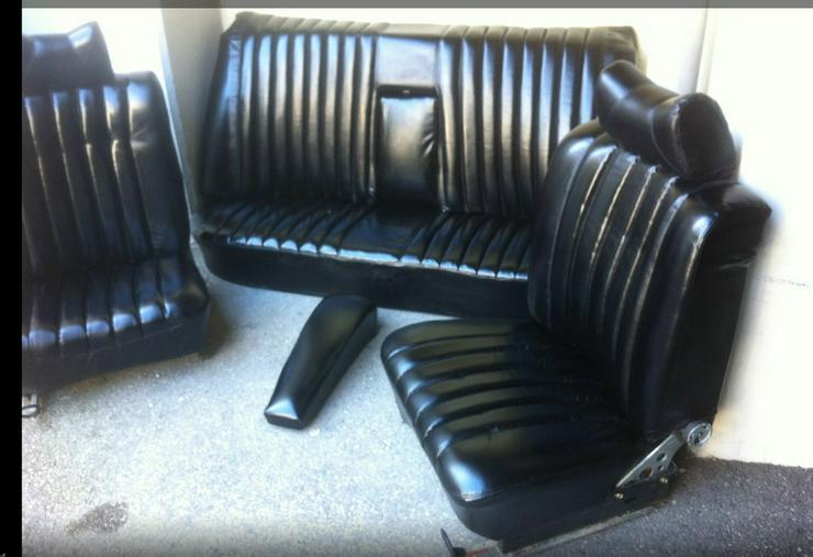 mercedes strich 8 ledersitze schwarz matt w115 in passau bayern auf. Black Bedroom Furniture Sets. Home Design Ideas