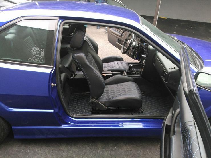 VW Corrado 16V Ledersitze Neu Recaro