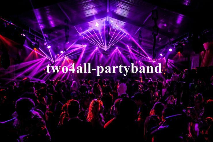 two4all Partyband Partymusik für kleines Budget