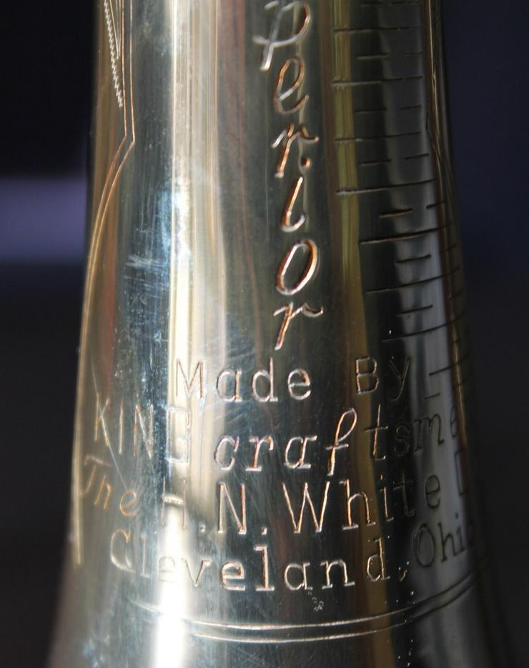 Bild 11: King Cleveland Superior Gillespie Trompete