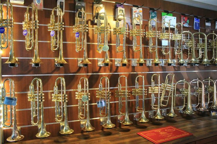 Bild 12: King Cleveland Superior Gillespie Trompete