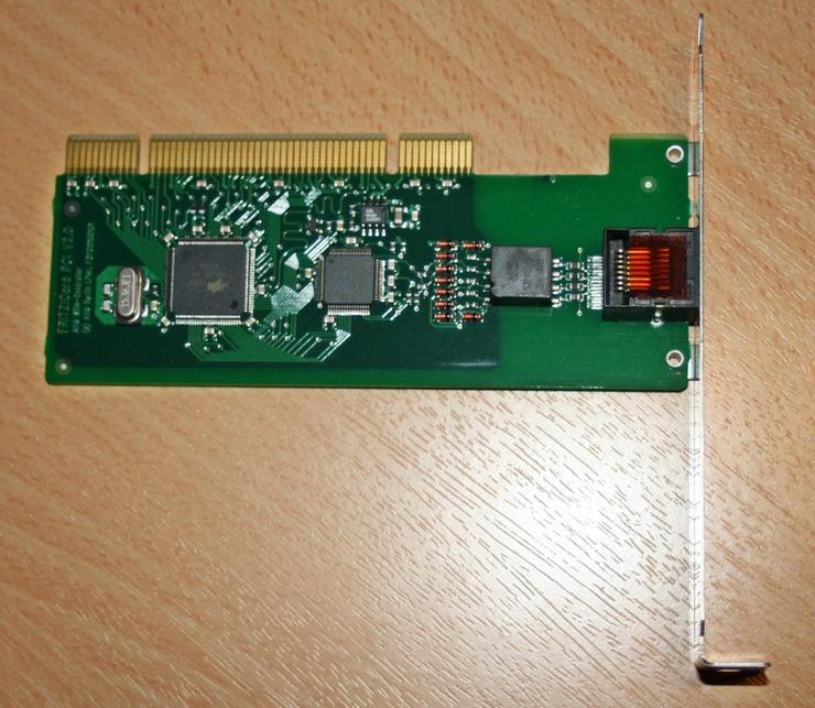 Bild 2: AVM ISDN Karte, Fritz Card PCI V2.0 Controller