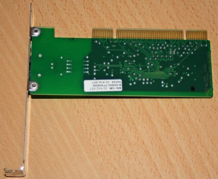 Bild 4: AVM ISDN Karte, Fritz Card PCI V2.0 Controller