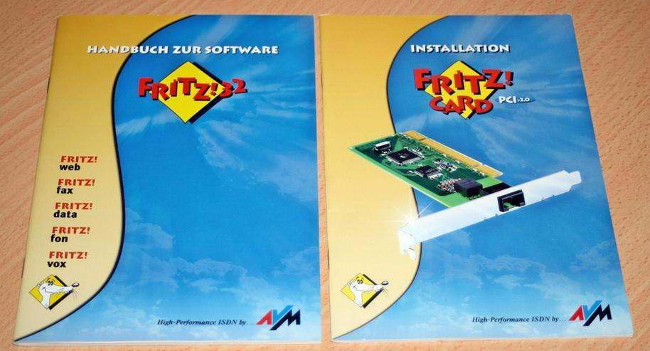 Bild 5: AVM ISDN Karte, Fritz Card PCI V2.0 Controller