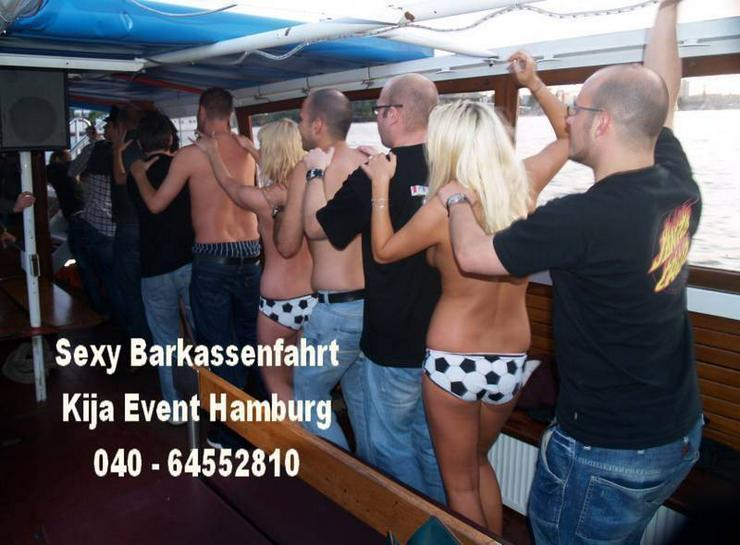 Partyschiff JGA Hamburg