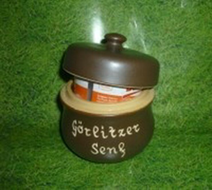 Senftopf - Görlitzer Senf - f. Bautzner Becher