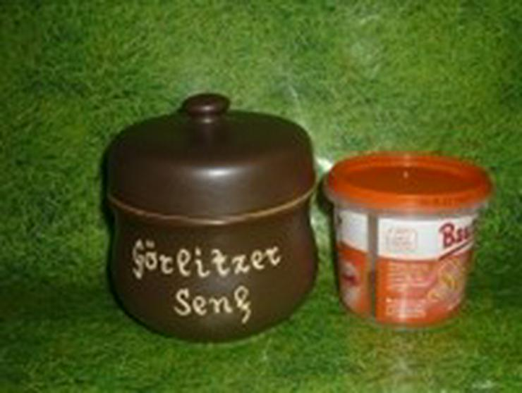 Bild 2: Senftopf - Görlitzer Senf - f. Bautzner Becher