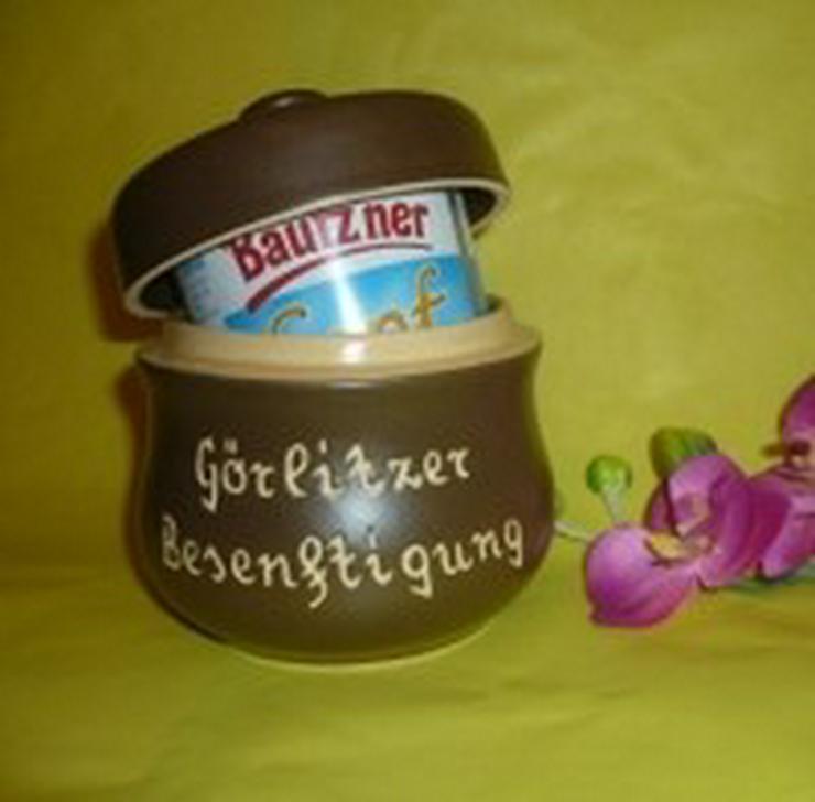 Bild 3: Senftopf - Görlitzer Senf - f. Bautzner Becher