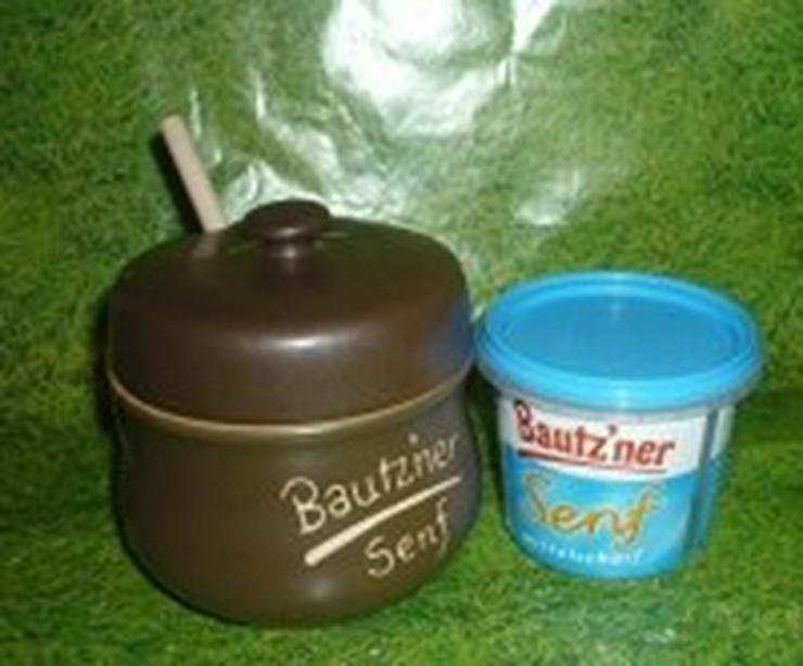 Bild 6: Bautzner Senftopf - beige - für Bautzner Becher