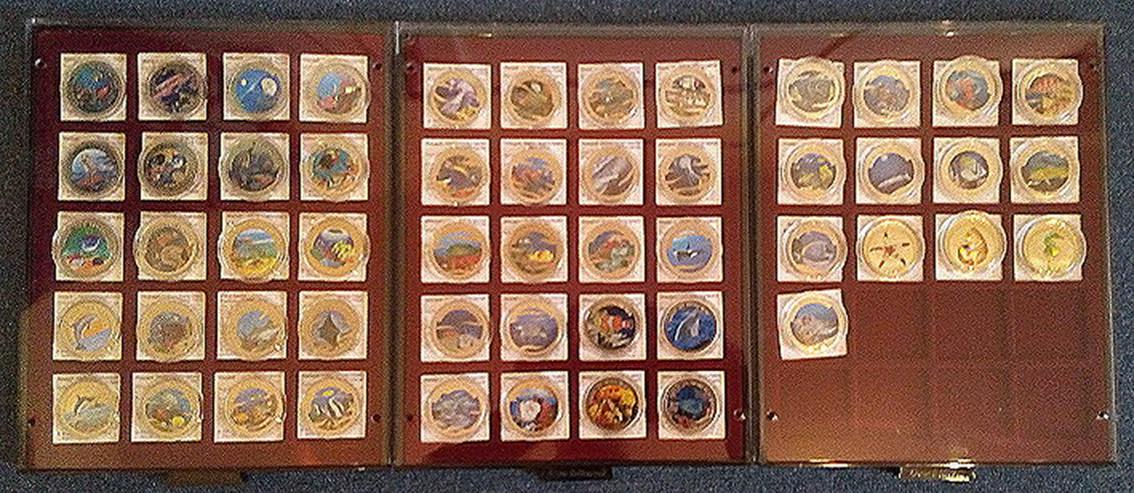 Farbmünzen Schutz der Meeresfauna