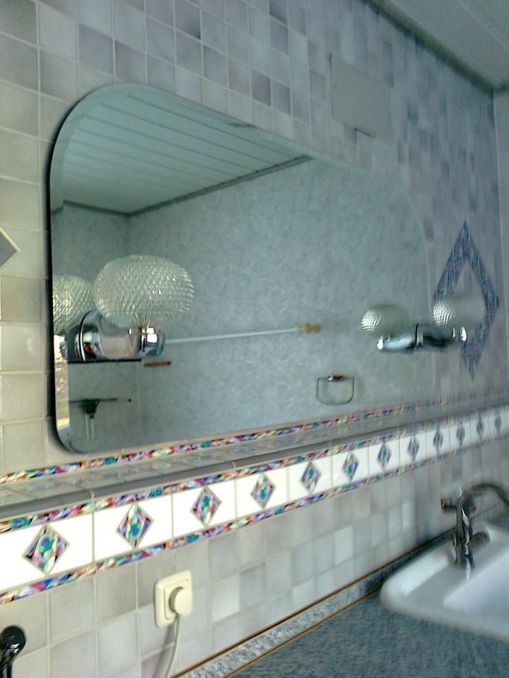Bad-/WC-Spiegel mit Beleuchtung