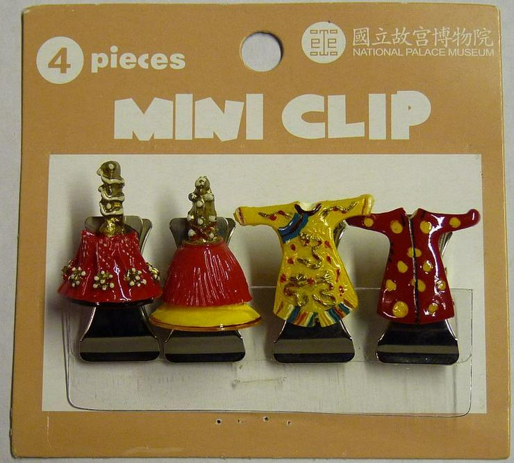 Bild 2: 8 Mini Clips aus Metall