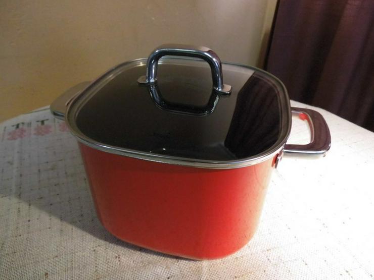SILIT Quadro Red Fleischtopf 22 cm 6,8 Liter S