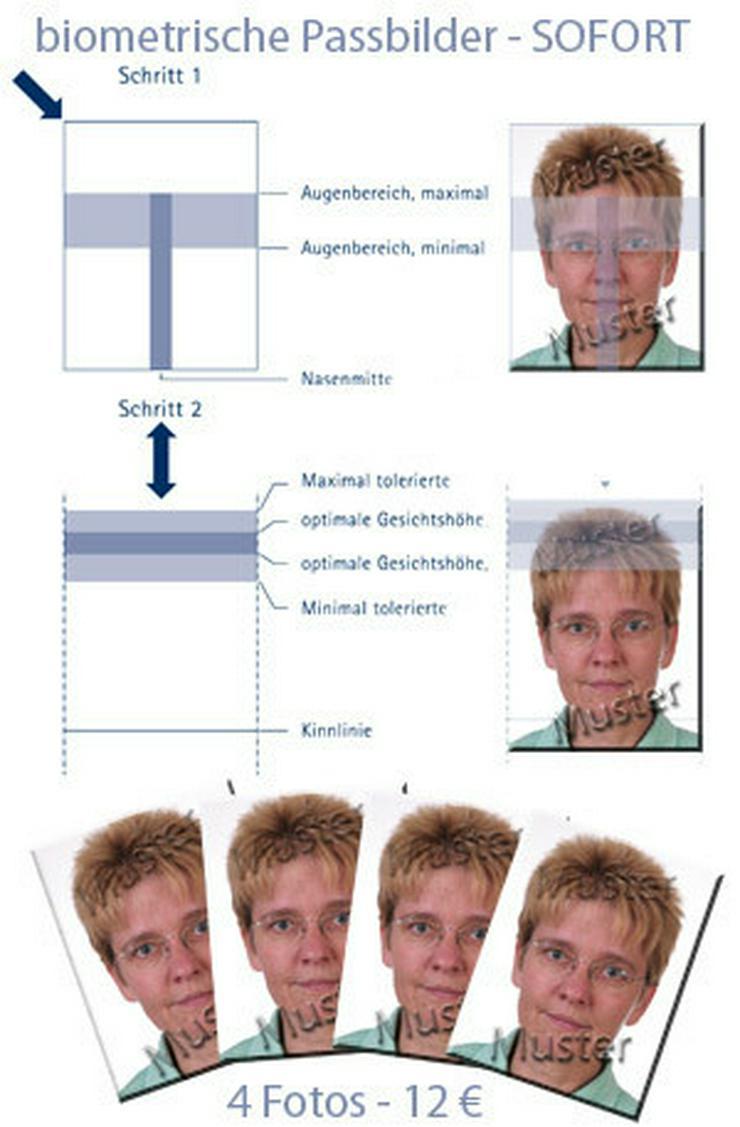 Biometric passport photographs