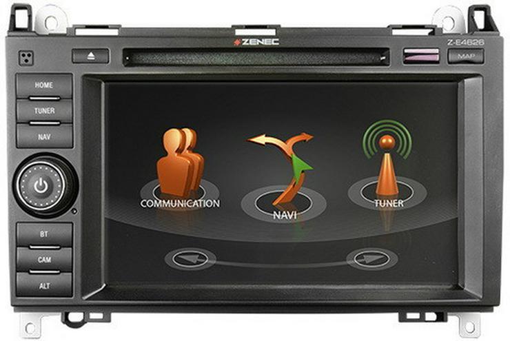 ZENEC EGO Naviceiver Mercedes Benz Autoradio - Autoradios, Player & Wechsler - Bild 1