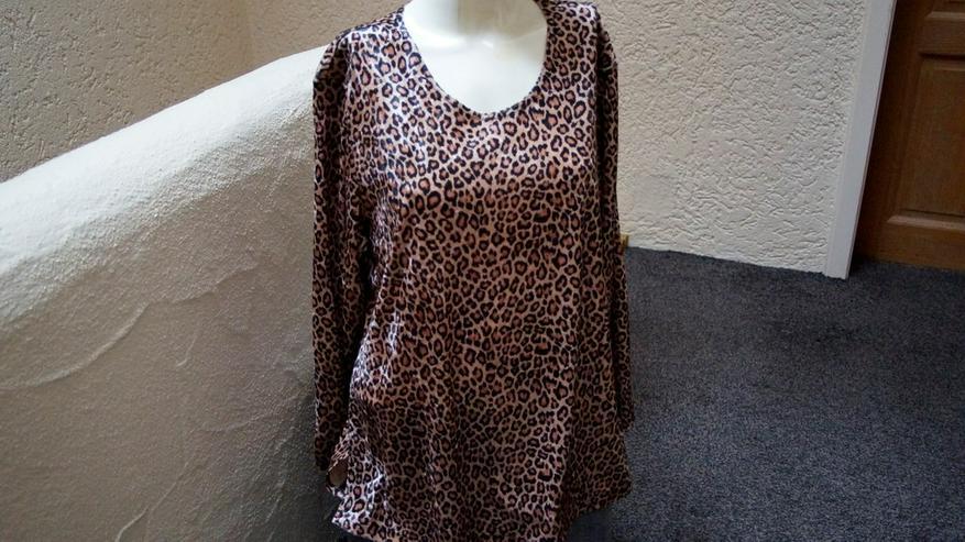 Shirt m. Leoprint, Gr. 46, Meine Größe, NEU