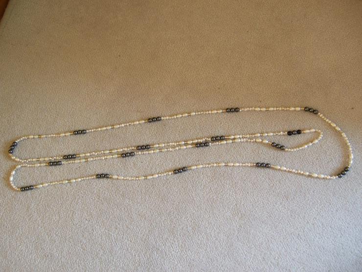 Süsswasser-Perlkette - Halsketten & Colliers - Bild 1