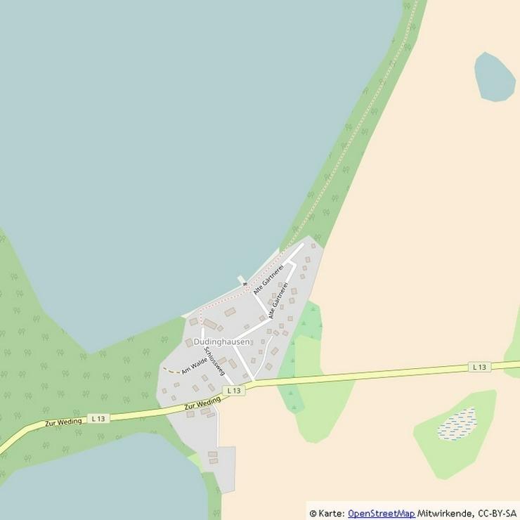Bild 13: Baugrundstück zwischen zwei Seen nahe Rostock-Laage!
