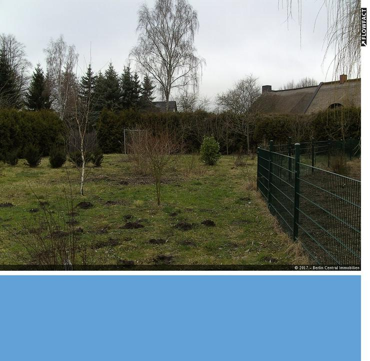 Bild 1: Baugrundstück zwischen zwei Seen nahe Rostock-Laage!