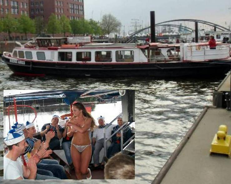Bootparty  Junggesellenabschied Hamburg