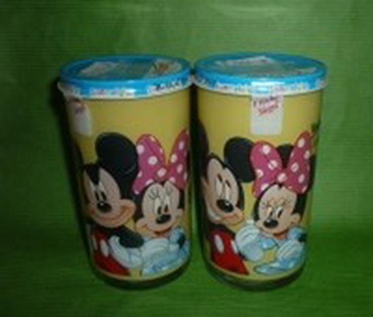 Bautzner Senf Sammelglas Micky+Minnie Maus
