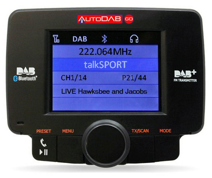 Connects2 AutoDAB-Go DAB Digitalradio