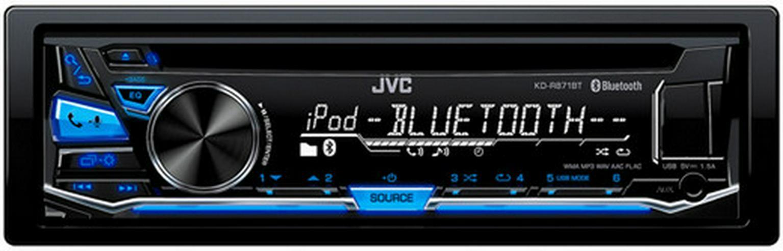 JVC KD-R871BT MP3-Tuner blau USB BT Autoradio