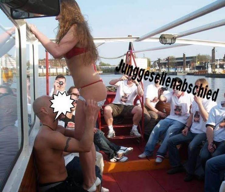 Vatertag JGA auf dem Partyboot Hamburg