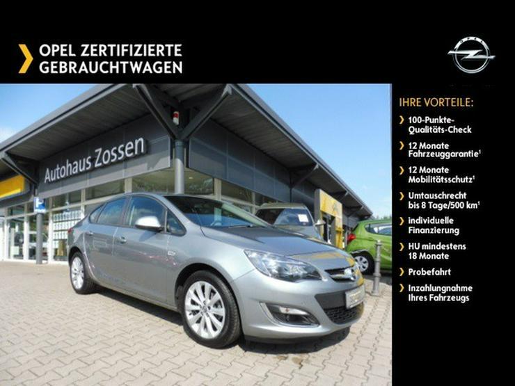 OPEL Astra 1.4 4-trg, Parkpilot, Sitz-/Lenkradhzg.