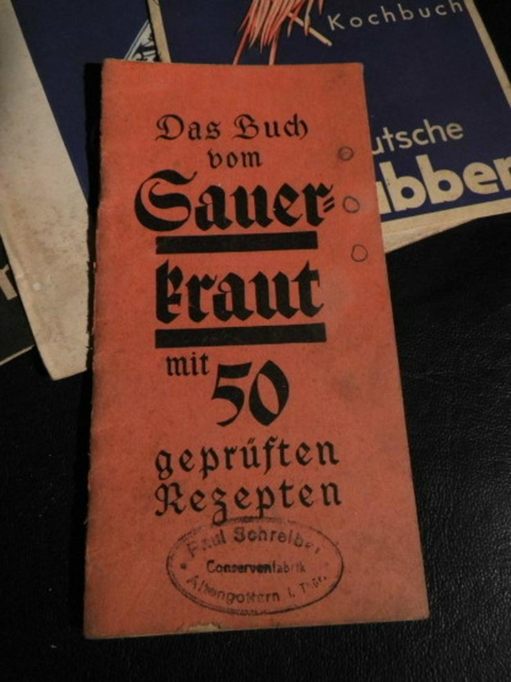 Bild 3: 5 antike Rezepthefte von 1936/37 Krabben, Heri