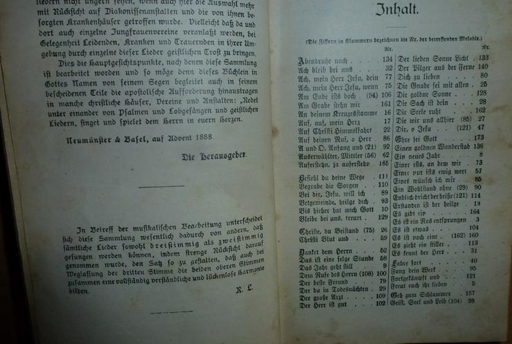 Bild 2: Singet dem Herrn Christliche Lieder.