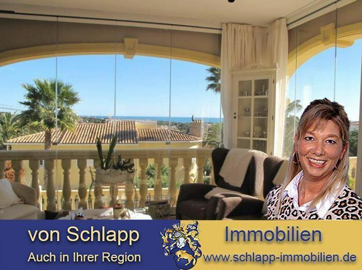 Calpe: großzügige Villa mit Meerblick - Bild 1