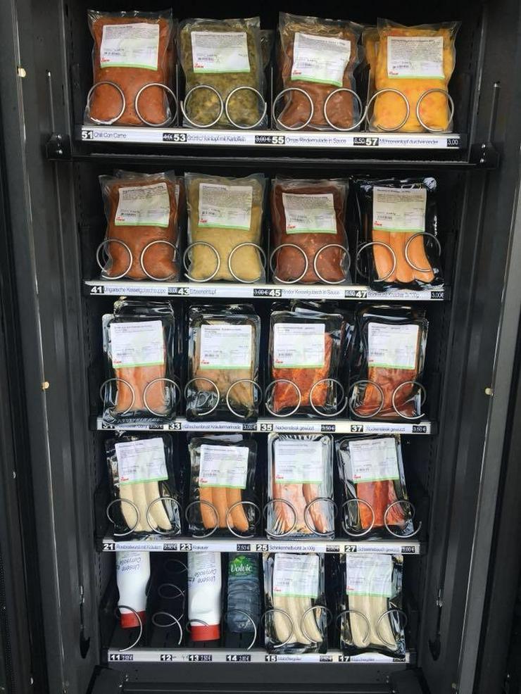 Selbstvermarktung  Fleischautomat  Käseautomat