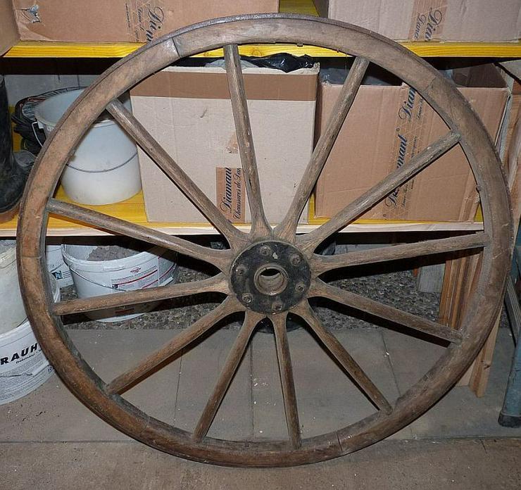 Postwagenrad 1 m Durchmesser