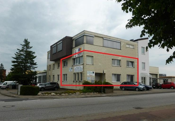 Renovierte Büroräume im Gewerbegebiet - Gewerbeimmobilie mieten - Bild 1