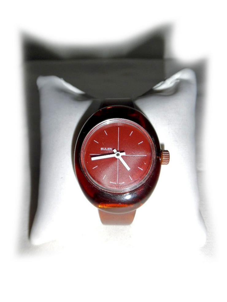 Seltene Armbanduhr von Buler - Herren Armbanduhren - Bild 1