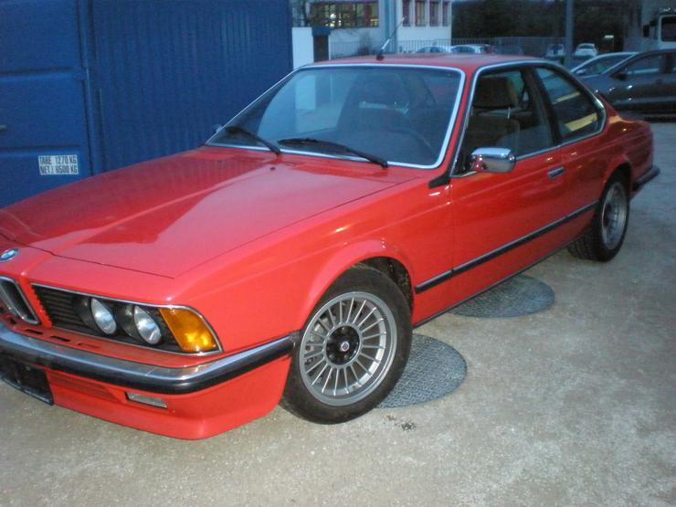 Bild 3: BMW 635i ALPINA, Orginaler Zustand, Wertanlage.
