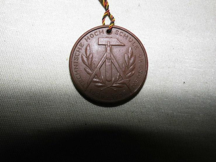Bild 2: Medaille Meissen - Böttger Keramik Technische