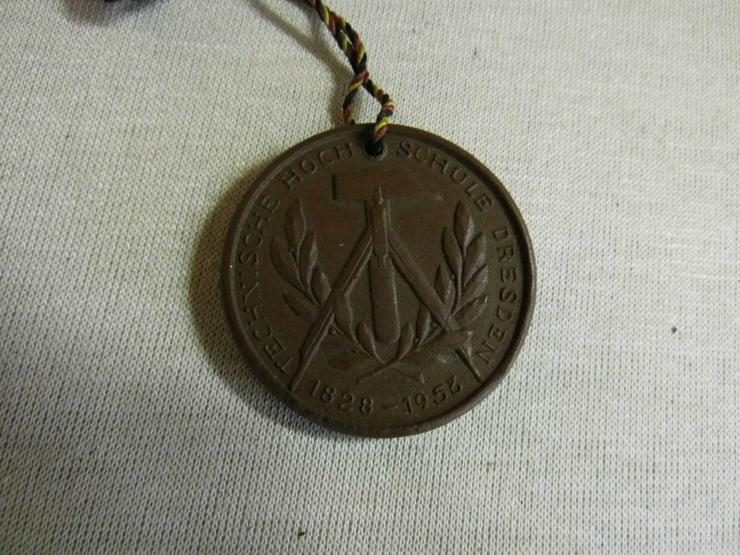 Bild 3: Medaille - Böttger Keramik Technische Hochschule Dresden 1823-1953 / DDR