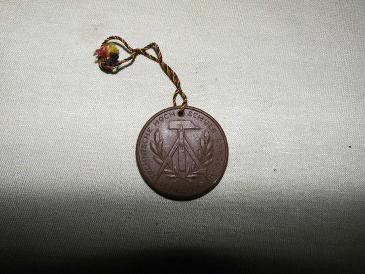 Medaille - Böttger Keramik Technische Hochschule Dresden 1823-1953 / DDR